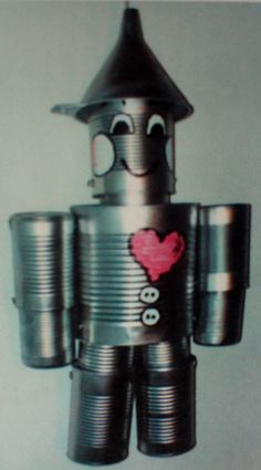 Hand Crafted Original Tin Can Man The by TheTinManConnection, $30.00
