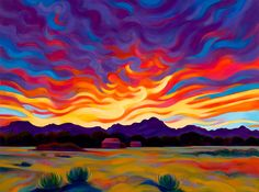 Tracy Turner Sheppard from Arroyo Seco, NM Turner Painting, Painting & Drawing, Painting Inspiration, Art Inspo, Abstract Landscape, Landscape Paintings, Landscapes, Southwest Art, Mexican Folk Art