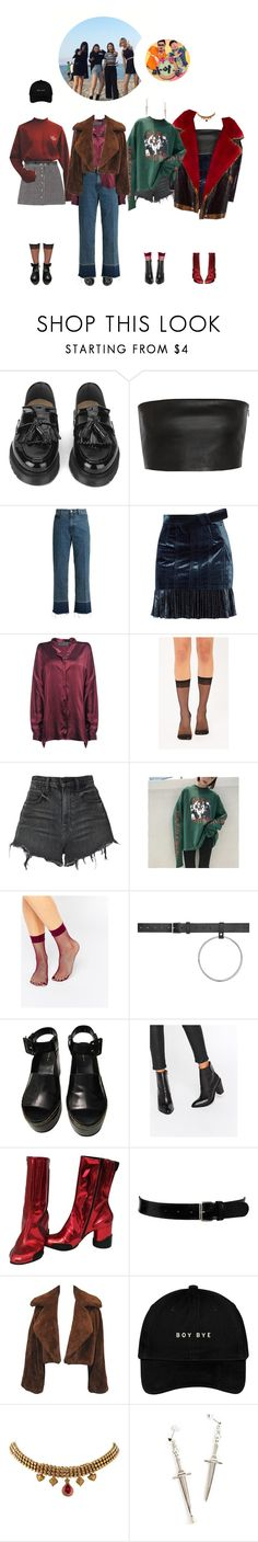 """Weekly Idol: 1st appearance"" by gg-hx ❤ liked on Polyvore featuring YMC, Vionnet, Rachel Comey, 3.1 Phillip Lim, Haider Ackermann, Alexander Wang, ASOS, Vetements, Maison Margiela and Black & Brown London"