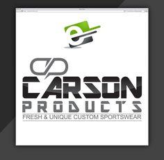 Design Logo for Carson Product Sportswear Company by eStore Services