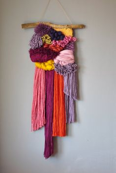 Your place to buy and sell all things handmade Weaving Textiles, Weaving Art, Tapestry Weaving, Loom Weaving, Hand Weaving, Circular Weaving, Weaving Projects, Weaving Wall Hanging, Wall Hangings