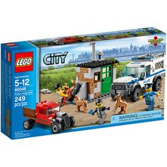 LEGO City Police Dog Unit Building Set $29.97