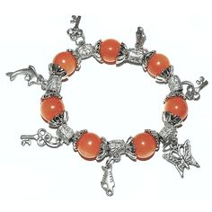 Glücks-Armband orange - hippie-spirit