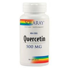 Quercetin 500 mg (90 capsule), Solaray Coconut Oil, Jar, Jars, Glass