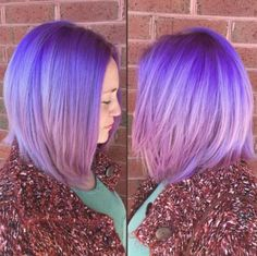 Purple hair don't care!  This look was created using L'ANZA VIBES!
