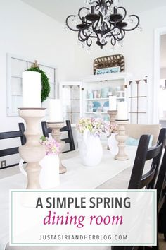 Home- Spring Dining