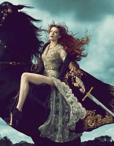 Florence Welch for Vogue