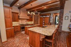 27703 Charter Lake Ln Katy, TX 77494: Photo Large kitchen with Sub-zero/Wolf appliances