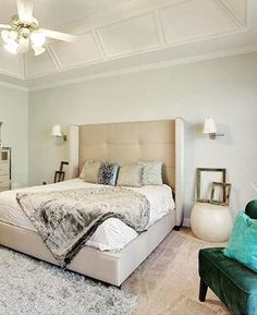 evolvebydesign2 shared this chic home staging styled with our nina bed home office room calmly