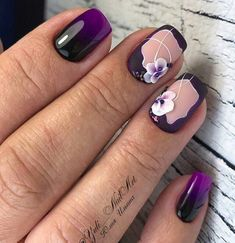 33 Cute And Cool Nail Designs 2018 - style you 7 Nail Designs Pictures, Cute Acrylic Nail Designs, Cute Acrylic Nails, Cool Nail Designs, Fun Nails, Nice Nails, New Nail Art, Cool Nail Art, No Chip Nails
