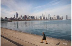 The Willis Tower (L), which was formerly Sears Tower, rises above the city's skyline on November 8, 2013 in Chicago, Illinois. The building ...