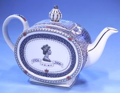 Sadler Elizabeth II 80th Birthday Commemorative Teapot