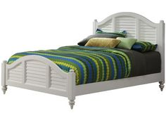 Home Styles Bermuda Queen Bed White Finish *** Want to know more, click on the image. (This is an affiliate link)