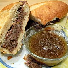 Slow Cooker French Dip Sandwich « Baking Bites