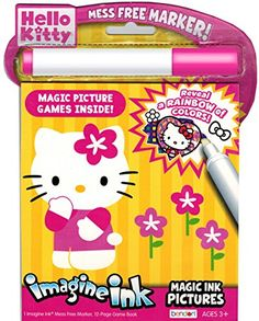 Hello Kitty Imagine Ink Book * Continue to the product at the image link.Note:It is affiliate link to Amazon.