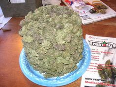 Cannabis Birthday cake