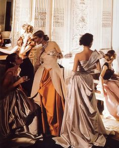 Charles James gowns, Cecil Beaton Paris of the day Charles James, Historischer Roman, Cecil Beaton, Old Money, Princess Aesthetic, Classy Aesthetic, High Society, Mode Vintage, Old Hollywood