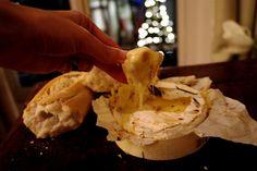 Mmm baked camembert