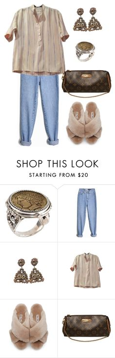 """""""Untitled #806"""" by lucyshenton ❤ liked on Polyvore featuring Konstantino, Joseff of Hollywood, Yves Saint Laurent, Miu Miu and Louis Vuitton"""