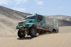 Dakar Rally Trucks | Dakar 2014 Driver Gerard De Rooy Team Petronas De Rooy Iveco