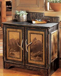 Teton Chest - love the design and the deer antler handles