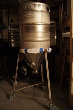 $40 DIY Conical (+ keg, no welding) - Home Brew Forums