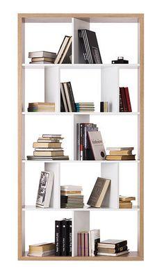 Biblioteca moderna de madera londra sba baldu kompanija for Estanteria telescopica