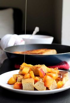Kaiserschmarrn (German chopped up crepes) use gf flour, organic sugar, coconut oil, and replacement for eggs