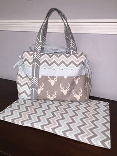 Baby Boy Diaper Bag Choose Your Own Fabric by ApeyLeesDesigns