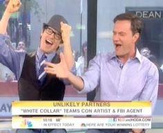 Matt & Tim...Neal & Peter...Lovely partners, love their enthusiasm!