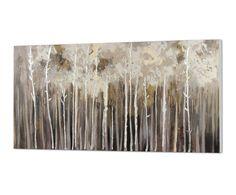 Óleo sobre lienzo Bosque - 70x150 cm | Westwing Home & Living