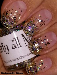 Holographic Hussy: Glimmer By Erica Party All Night