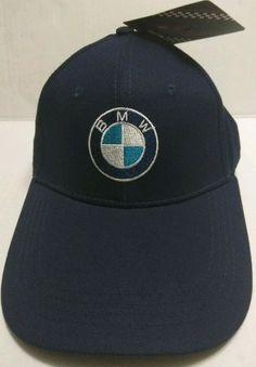 70c1c416877 BMW Racing Hat - Luxury Designer Bent Bill Strapback Cap - New w Tags   fashion