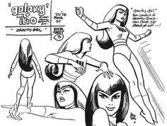 Saturday Morning Cartoon Super-Heroes - The Galaxy Trio