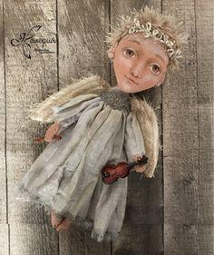 Купить Кукла «Ангел Осенняя Мелодия» в интернет магазине на Ярмарке Мастеров
