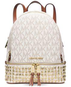 MICHAEL Michael Kors Rhea Zip Small Studded Backpack