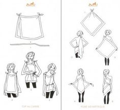 Hermes how-to.  One more blouse option.
