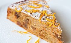 Carrot And Sultana Cake