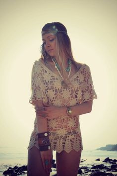 NATIVE TURQUOISE /// Boho Tribal Native Inspired /// by luxdivine