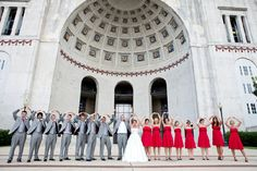 Wedding at Ohio State. cute :) @Sarah Chintomby Chintomby Chintomby Chintomby Patel would love this