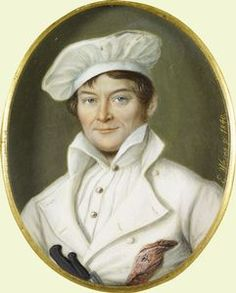 Portrait of a Coburg chef by Prince Albert  1840