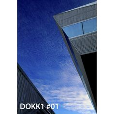 Picture taken at Dokk1 in Aarhus, European Capital of culture 2017. Poster is for sale. No.1 of 52. #aarhus2017 #dokk1 #posters #photography #visitdenmark #visitaarhus #bluesky