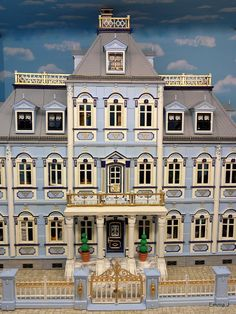 The Blue Mansion ~ Emma.J's Victorian Houses