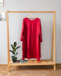 Closet Organisation, Drawstring Waist, Short Sleeve Dresses, Zero Waste, Handmade, Clothes, Shopping, Party, Fashion