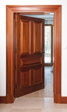 Classic wooden doors – Wooden interior and exterior doors – Gierszewski Front Door Design Wood, Double Door Design, Wooden Door Design, Wooden Front Doors, Bedroom Door Design, Door Design Interior, Balcony Grill Design, Indian Doors, Decoration