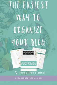 Finding the perfect planner can be difficult and even expensive. To stay on task and work together as a community, Bloggers Get Social created a free planner that you can download. All the pages in the planner give you ways to keep your blog work organized. It's the perfect planner for your blog! #blogging #blogtips #bloggersgetsocial