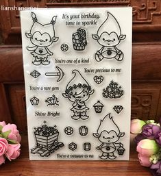 Cheap clear stamps, Buy Quality transparent clear silicone stamp directly from China clear silicone stamp Suppliers:  Cute Spirit Transparent Clear Silicone Stamp/Seal for DIY scrapbooking/photo album Decorative clear stamp sheets