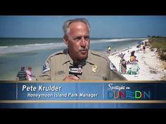 Honeymoon Island sand is shifting