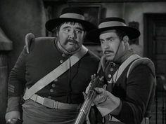 Zorro - Sgt Garcia and Corp. Reyes.