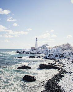 Long Island Off-Season Activities: Montauk to Fire Island Fire Island New York, Long Island Ny, Maine Winter, Winter Beach, New York Vacation, New York Travel, Usa Travel, Montauk Lighthouse, Hamptons New York